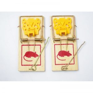 Wooden Mouse Trap Set – 2 pack