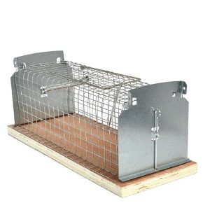 Wooden Base Rat Trap Cage