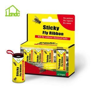 Eco-friendly Fly Ribbons without Poison